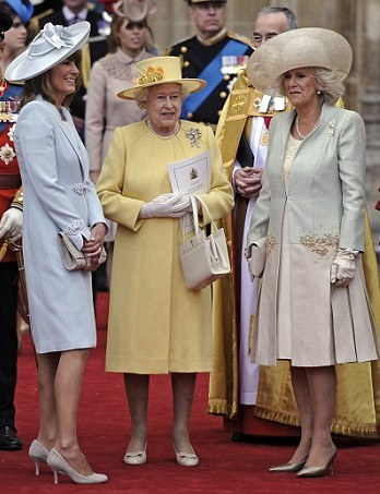 Carole Middleton, the Queen, and the Duchess of Cornwall