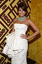 Eva Mendez at the Golden Globes