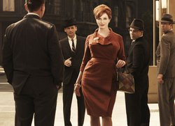 Christine Hendricks as Joan Holloway, AMC's Mad Men